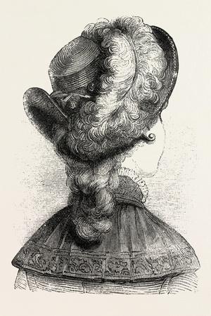 Girl's Hat, Fashion, 1882