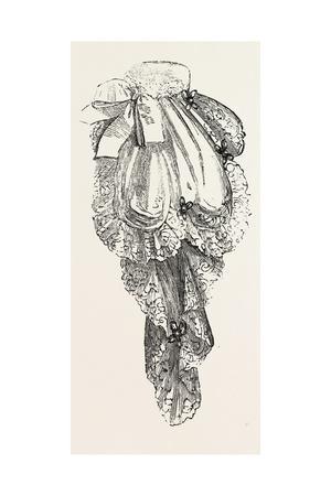 Jabot Necktie, Fashion, 1882