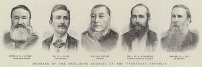 Members of the Executive Council of the Transvaal Republic