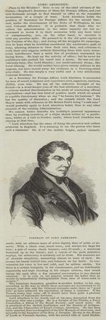 Portrait of Lord Aberdeen