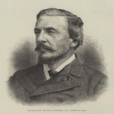 The Right Honourable the Earl of Dufferin, Gcb, Viceroy of India