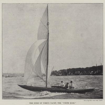 The Duke of York's Yacht, the White Rose