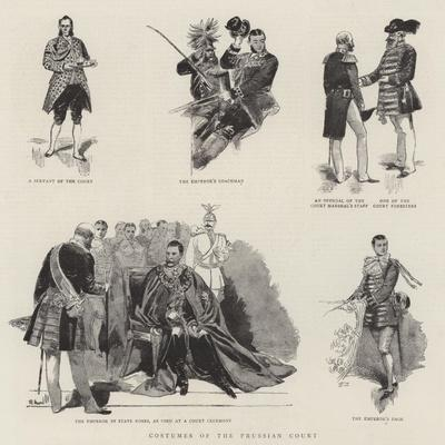 Costumes of the Prussian Court