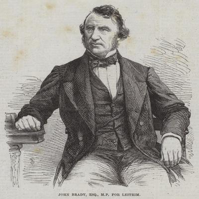 John Brady, Esquire, Mp for Leitrim