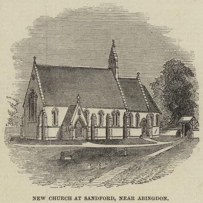 New Church at Sandford, Near Abingdon