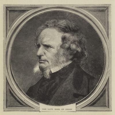The Late Earl of Derby