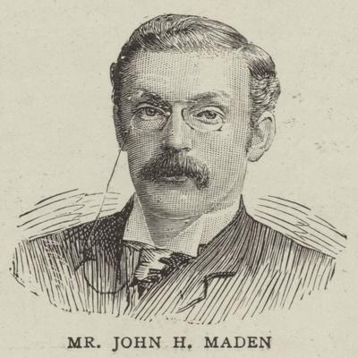 Mr John H Maden
