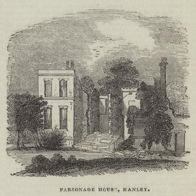 Parsonage House, Hanley