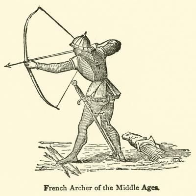 French Archer of the Middle Ages