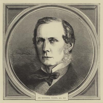Sir Roundell Palmer