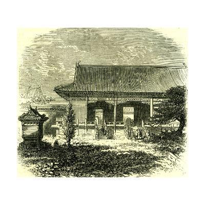 Entrance to the Tomb of the Ming Dynasty Beijing Peking 1866