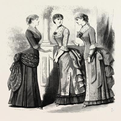Evening Demi Toilettes, Fashion, 1882