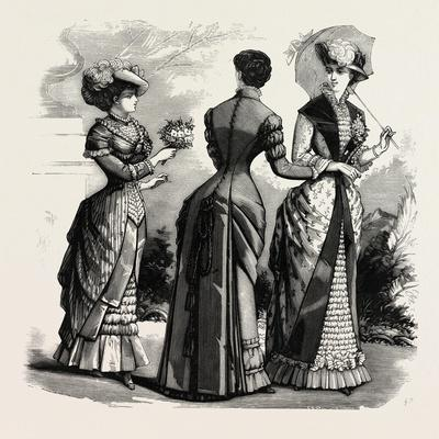 Summer Costumes, 1882, Fashion