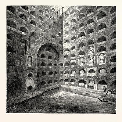 A Roman Columbarium Rome Italy