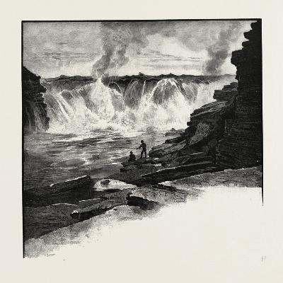 Ottawa, Chaudiere Falls, Canada, Nineteenth Century