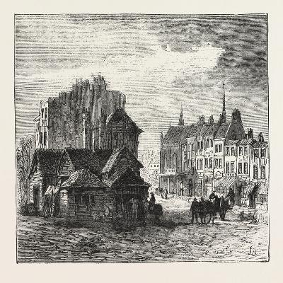 The North of London, Highgate High Street, 1876, UK