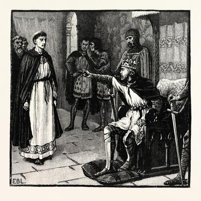 The Abbot of Arbroath before King Edward