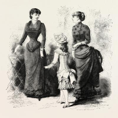 Summer Costumes, Fashion, 1884, UK