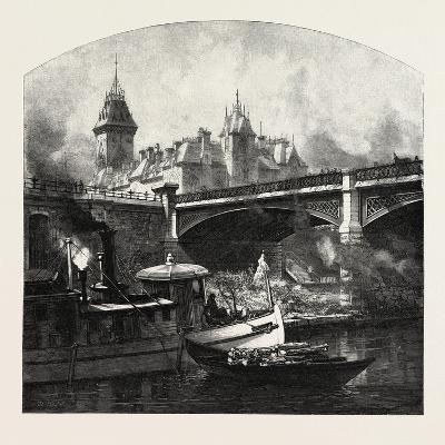 Ottawa, under Dufferin Bridge, Canada, Nineteenth Century
