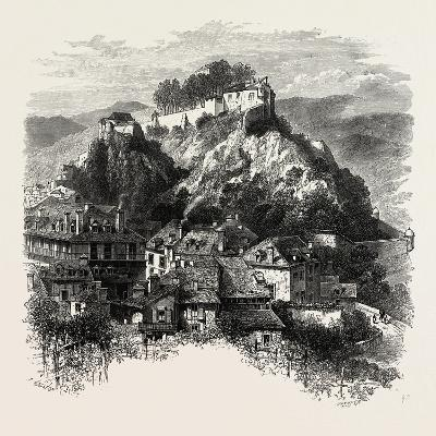 The Castle of Lourdes, the Pyrenees, France, 19th Century