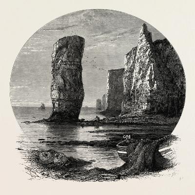 Old Harry Rocks, the South Coast, UK, 19th Century
