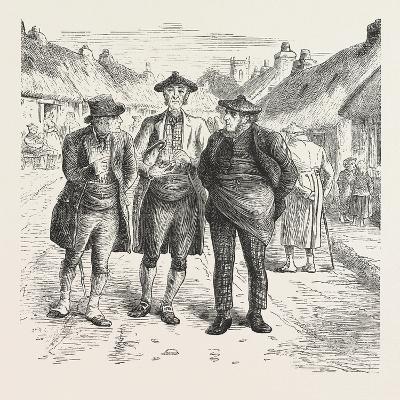Discussing the Last Sunday's Sermon, 1876, UK
