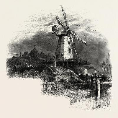 The Old Windmill at Rye, Kent, UK