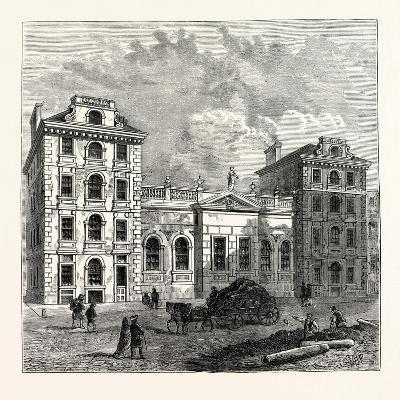 Old St. Paul's School 1750 London