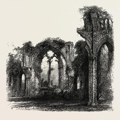 Netley Abbey, UK, 19th Century