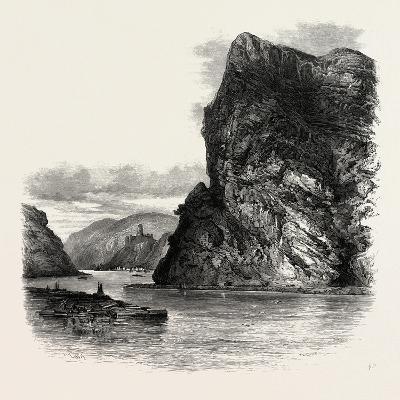 The Loreley Rock, the Rhine, Germany, 19th Century