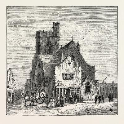 The North of London, High Street, Barnet, 1876, UK
