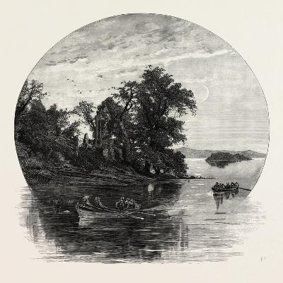 Innisfallen, Killarney, Ireland, 19th Century