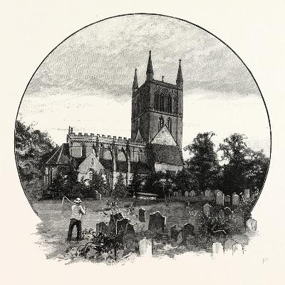 Pershore Church, from the North East