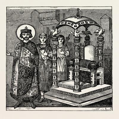 Throne of the Emperor of Constantinople