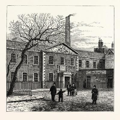 Printing House Square and the Times Office, 1870, London