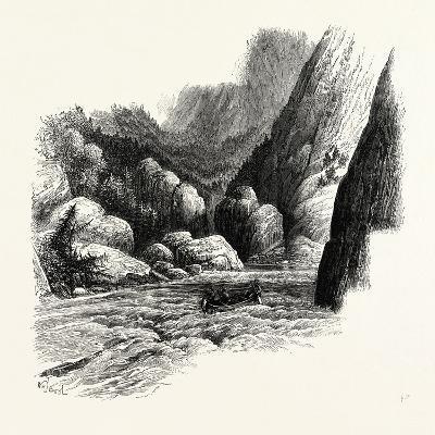 Rapids of Labrador, Canada, 1870s