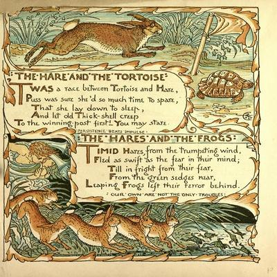 The Hare and the Tortoise the Hares and the Frogs