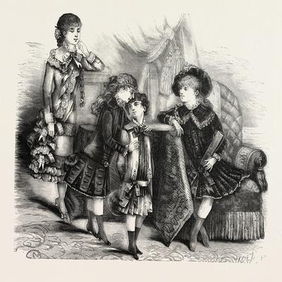 Children's Autumn Frocks, Fashion, 1882