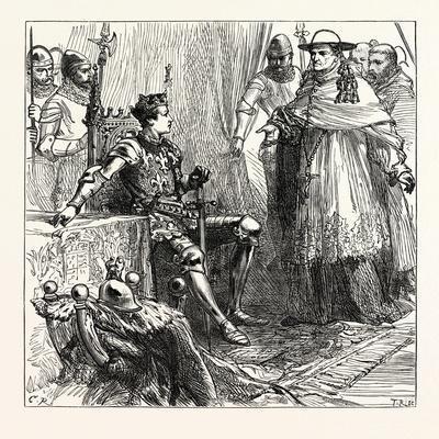 Cardinal Orsini's Visit to Henry