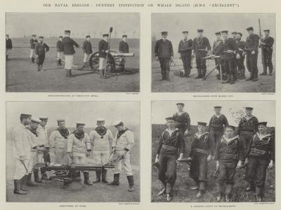 Our Naval Brigade, Gunnery Instruction on Whale Island (HMS Excellent)