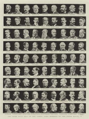 The Home Rule Bill in the Lords, Some Members of the Upper House, II