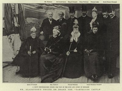 Mr Gladstone's Cruise on Board the Tantallon Castle