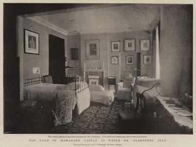 The Room in Hawarden Castle in Which Mr Gladstone Died