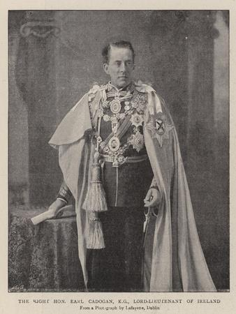 The Right Honourable Earl Cadogan, Lord-Lieutenant of Ireland