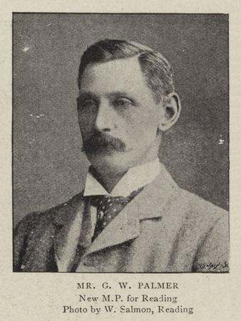 Mr G W Palmer