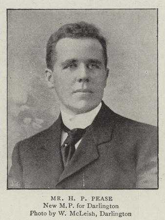 Mr H P Pease
