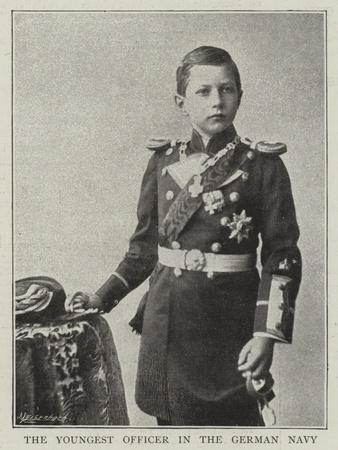 The Youngest Officer in the German Navy