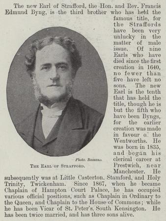The Earl of Strafford