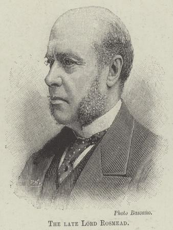 The Late Lord Rosmead