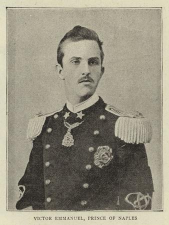 Victor Emmanuel, Prince of Naples